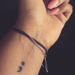Project Semicolon And The Meaning Behind The Tattoo